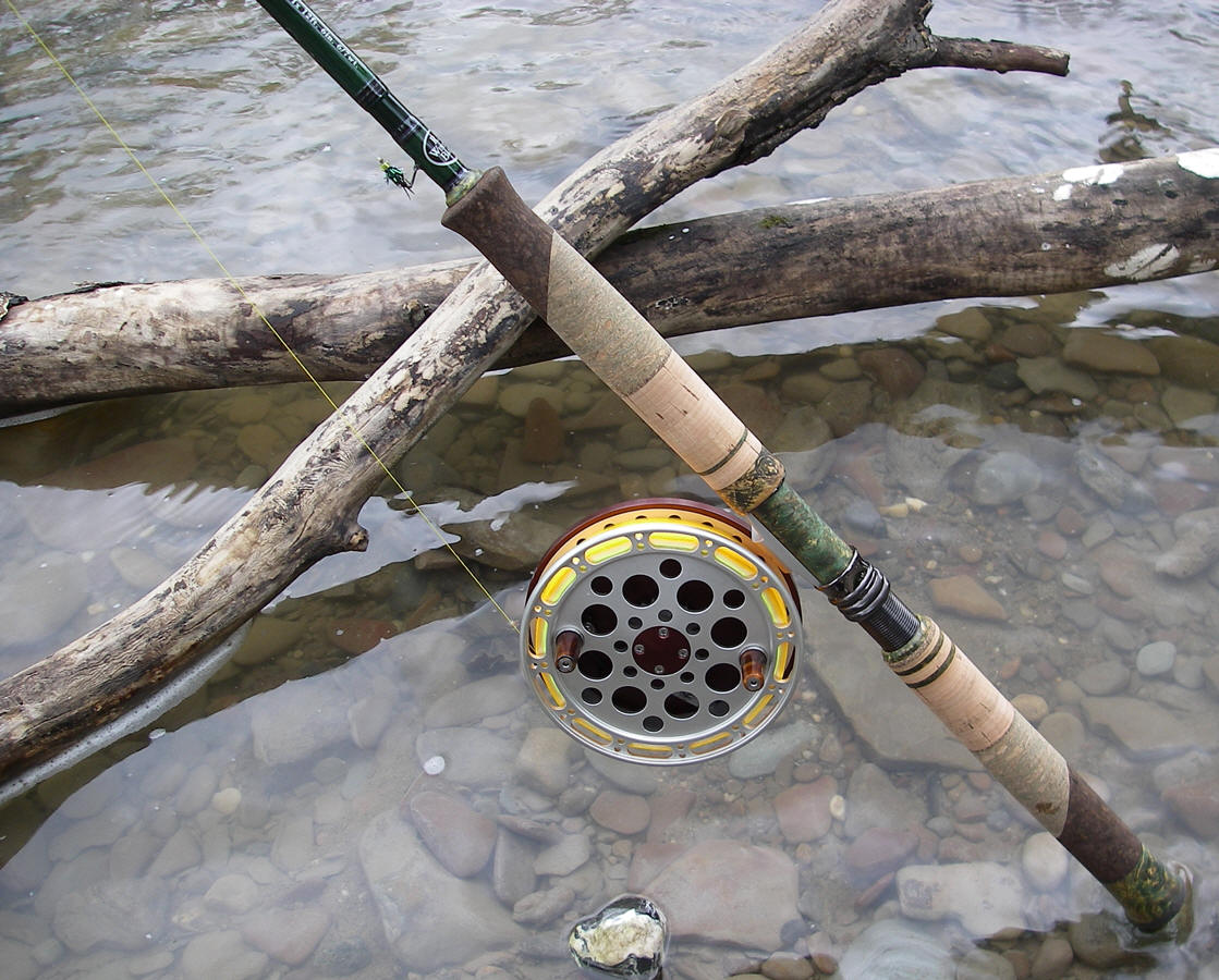 Paine falls 39 demarco center pin reel for Center pin fishing